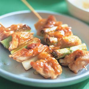 香蔥雞肉串烤肉飯