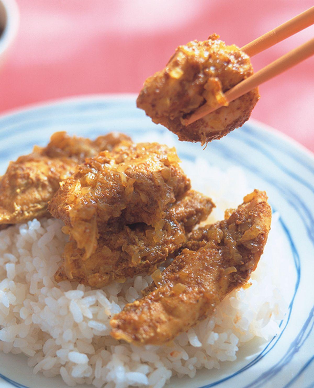 食譜:咖哩烤雞肉飯