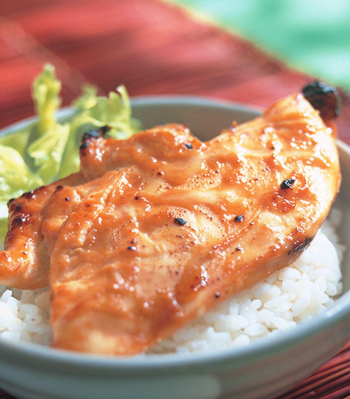 食譜:味噌烤雞胸飯