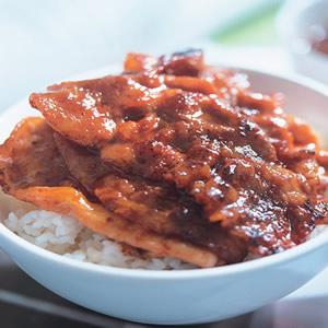 韓國烤肉飯(1)