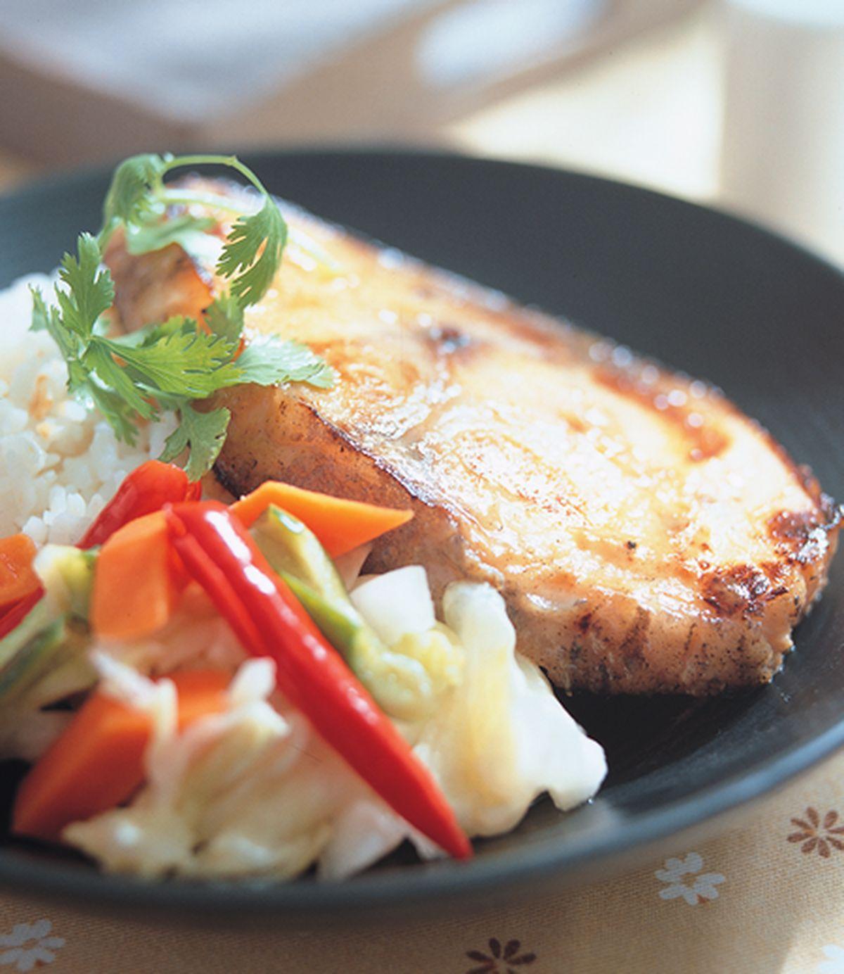 食譜:味噌烤魚飯