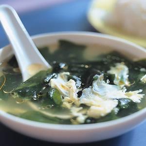 海苔蛋花湯