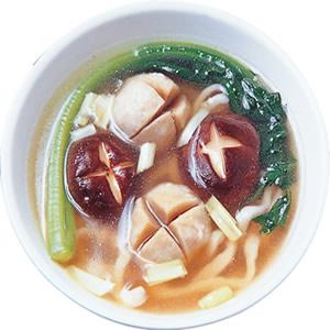 火腿貢丸湯麵