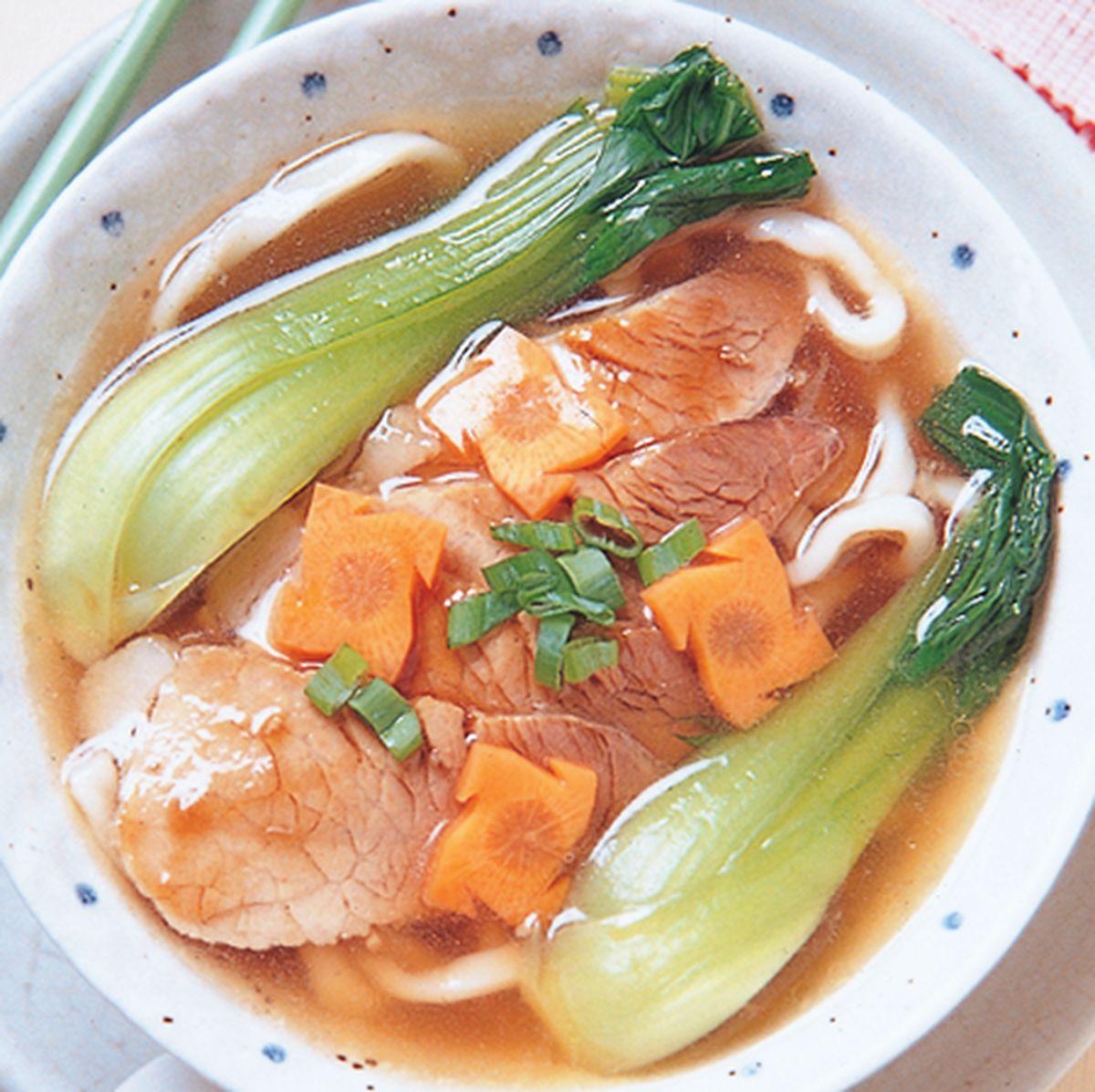 食譜:蠔油肉片湯麵