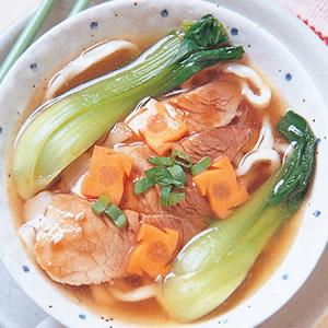 蠔油肉片湯麵