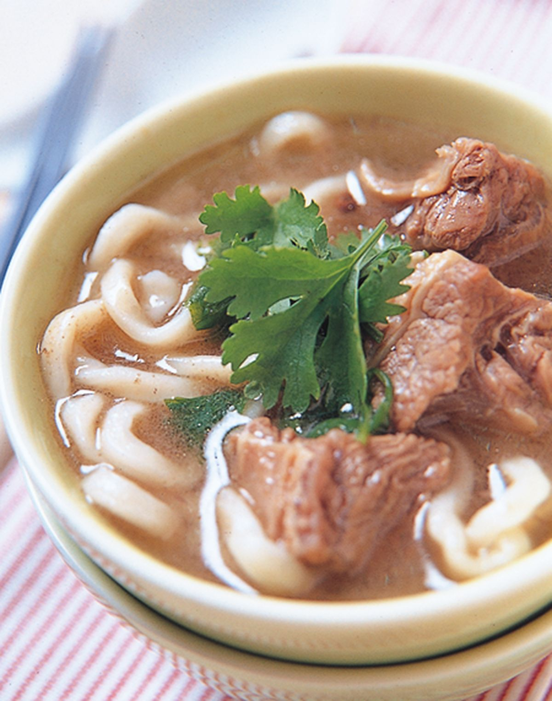 食譜:香茜牛肉麵