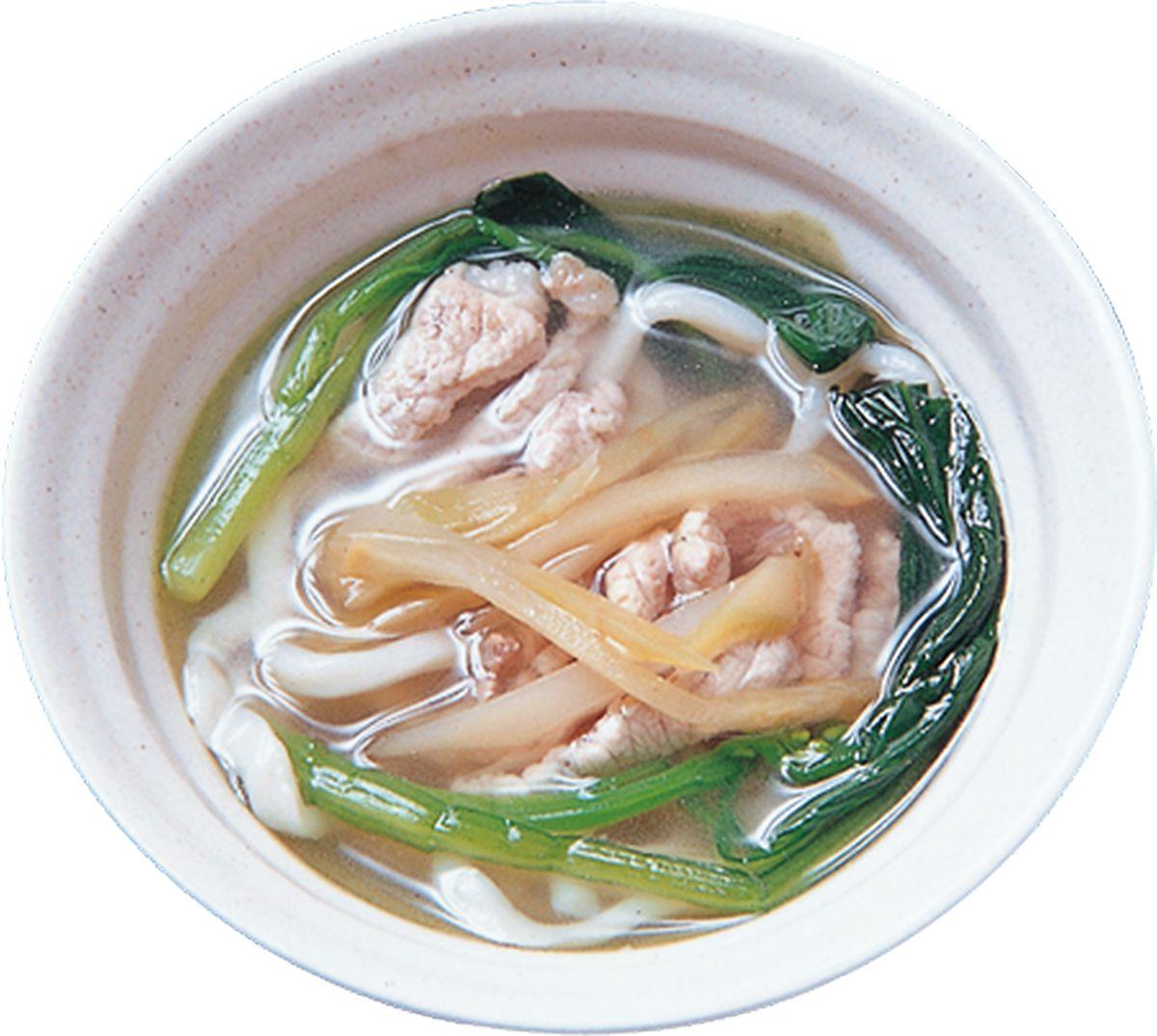 食譜:榨菜肉絲麵(1)