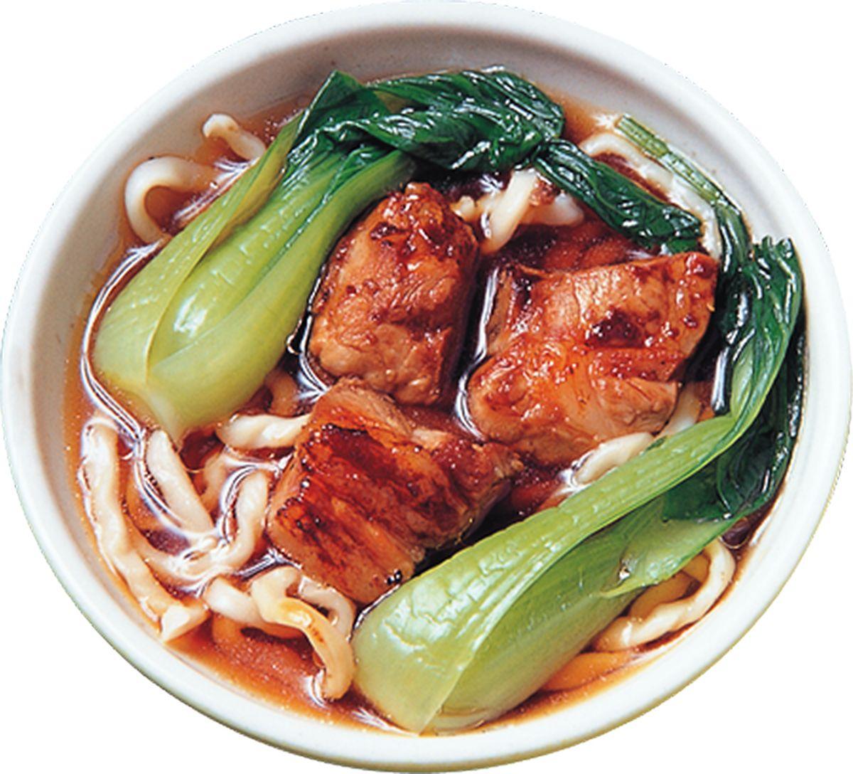食譜:排骨湯麵