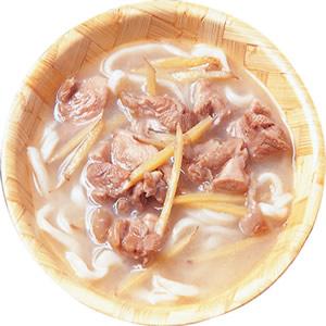 麻油雞湯麵