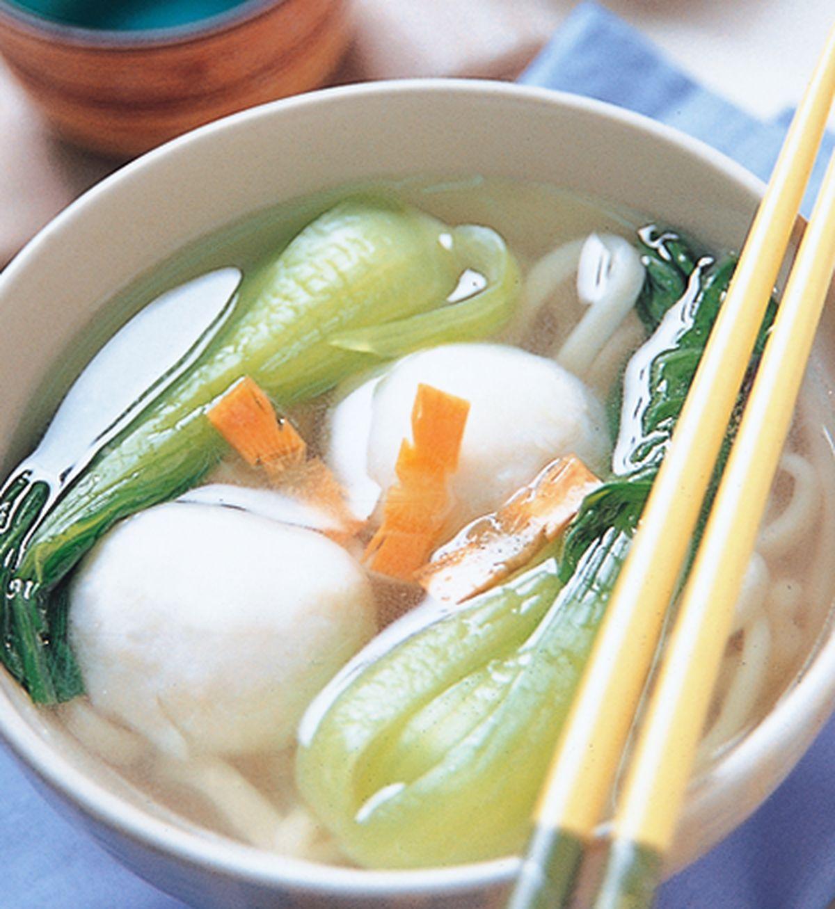 食譜:魚丸湯麵