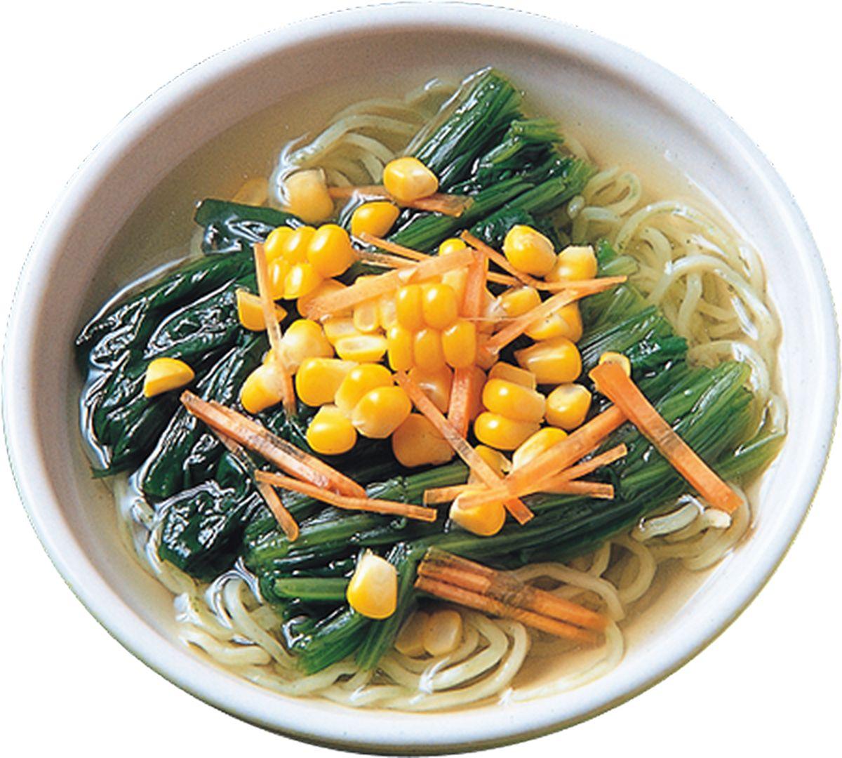 食譜:蔬菜湯麵