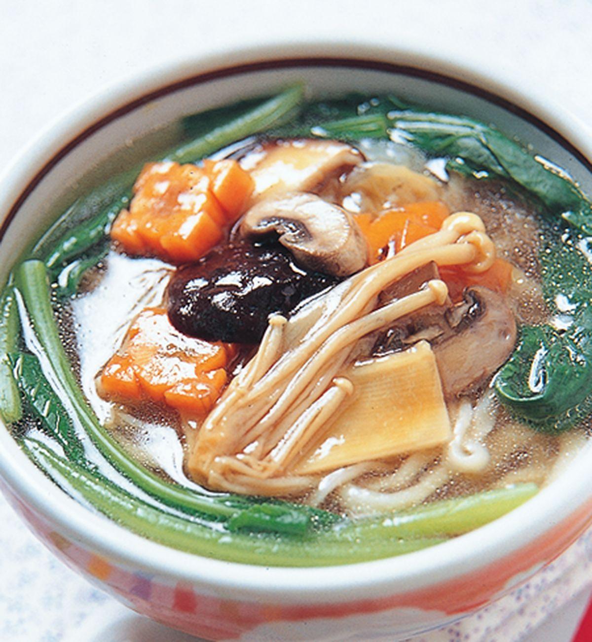 食譜:羅漢湯麵