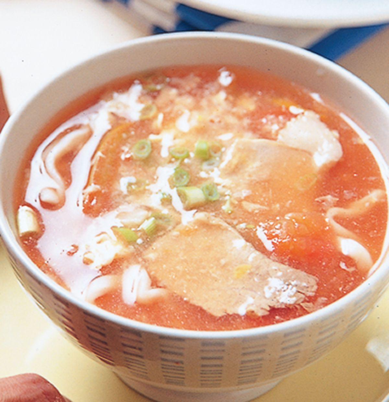 食譜:蕃茄滑蛋麵