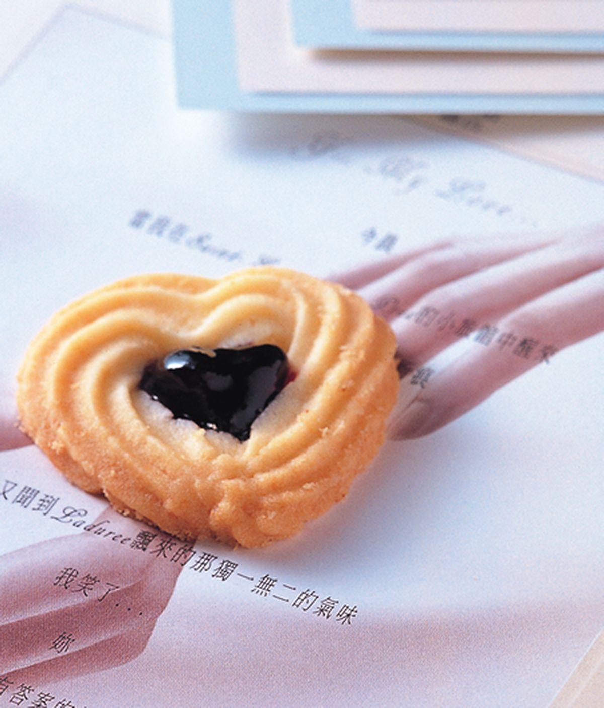 食譜:藍苺奶酥