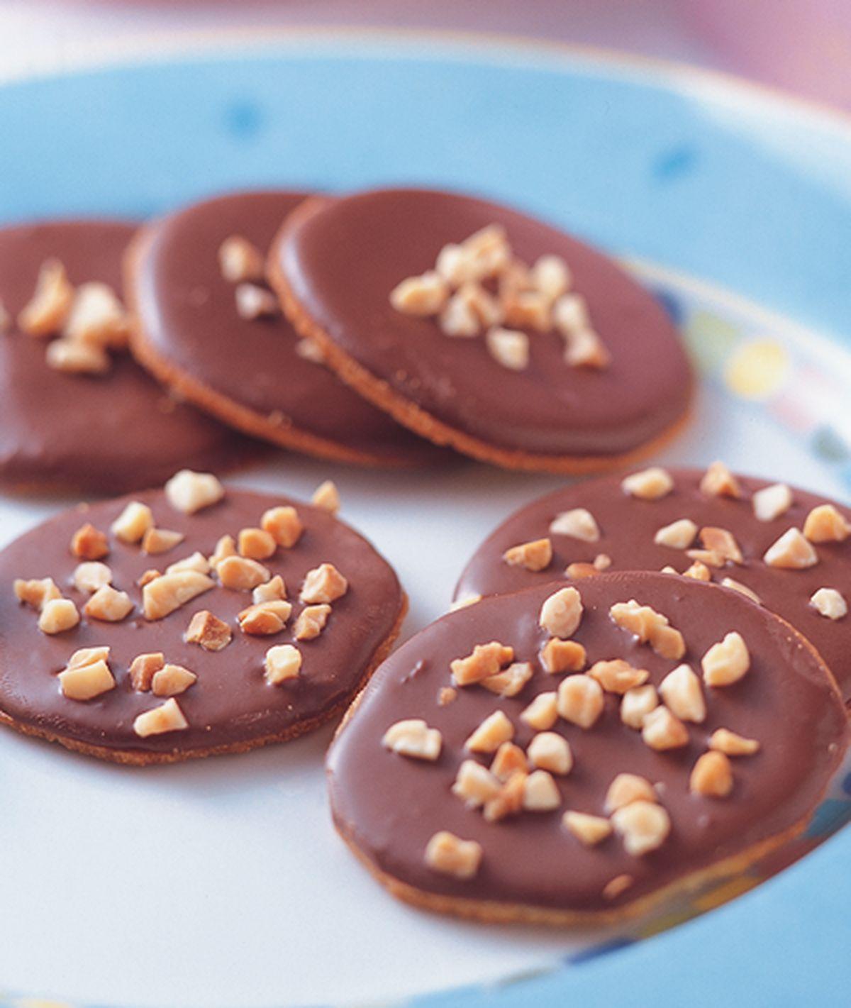 食譜:杏仁巧克薄片