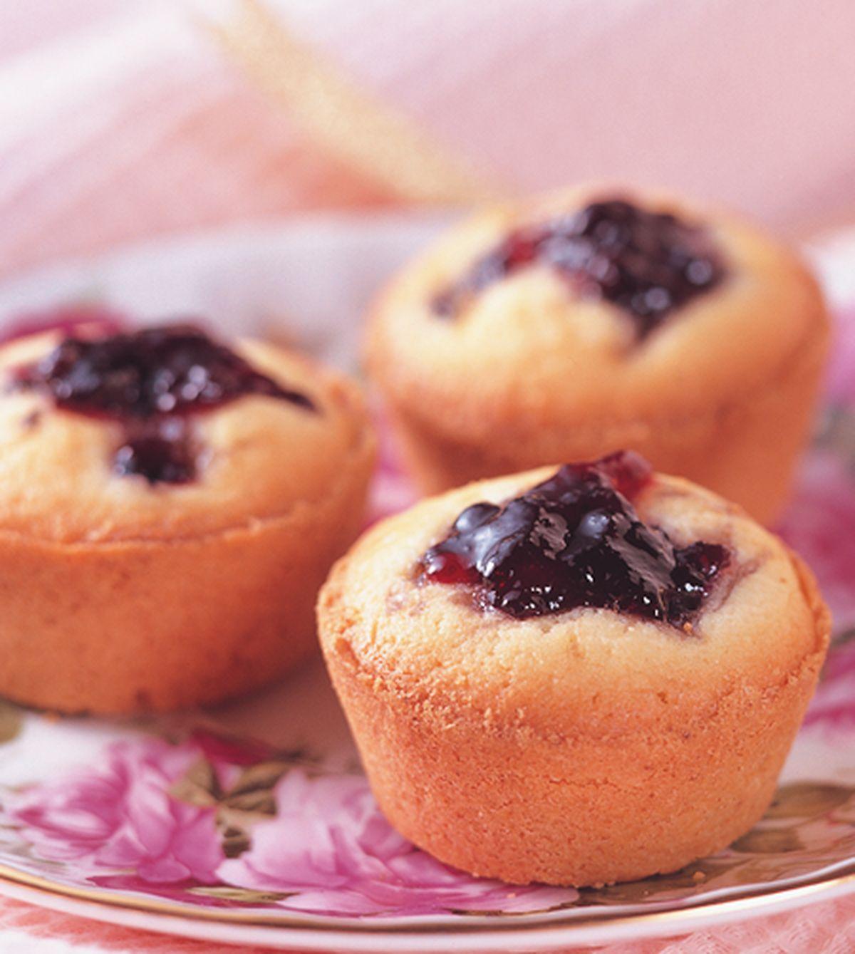 食譜:藍苺蛋糕塔