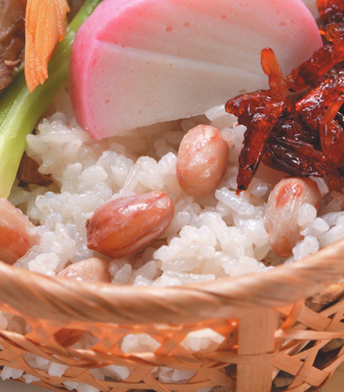 食譜:花生糯米飯