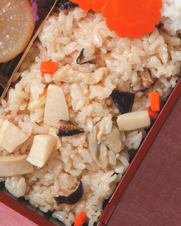 食譜:鮮筍野菜飯