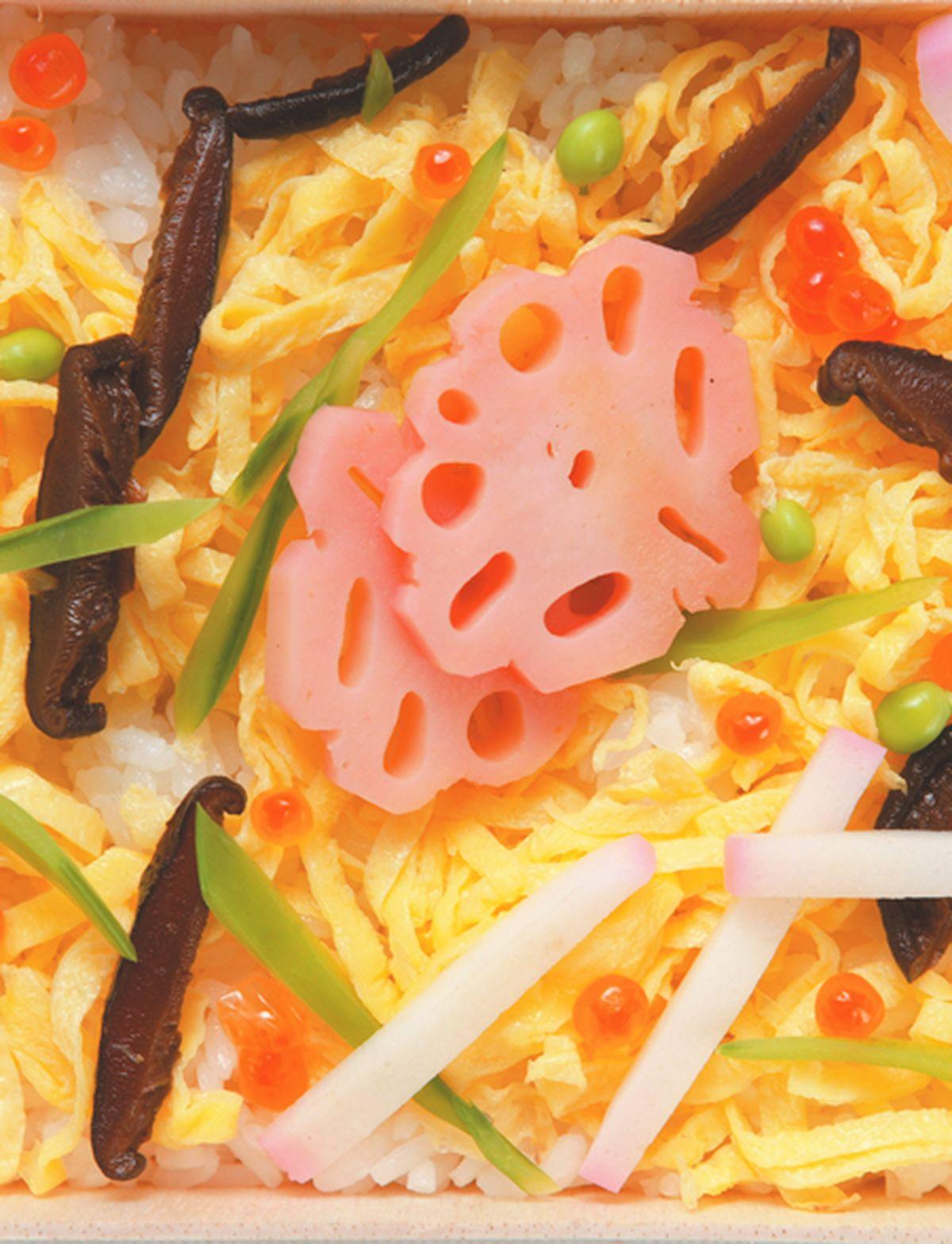 食譜:什錦壽司便當