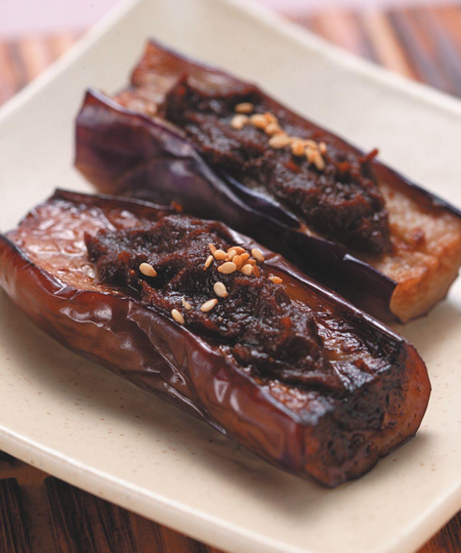 食譜:田樂味噌茄子