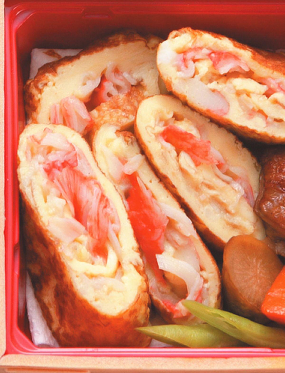 食譜:蟹肉蛋卷
