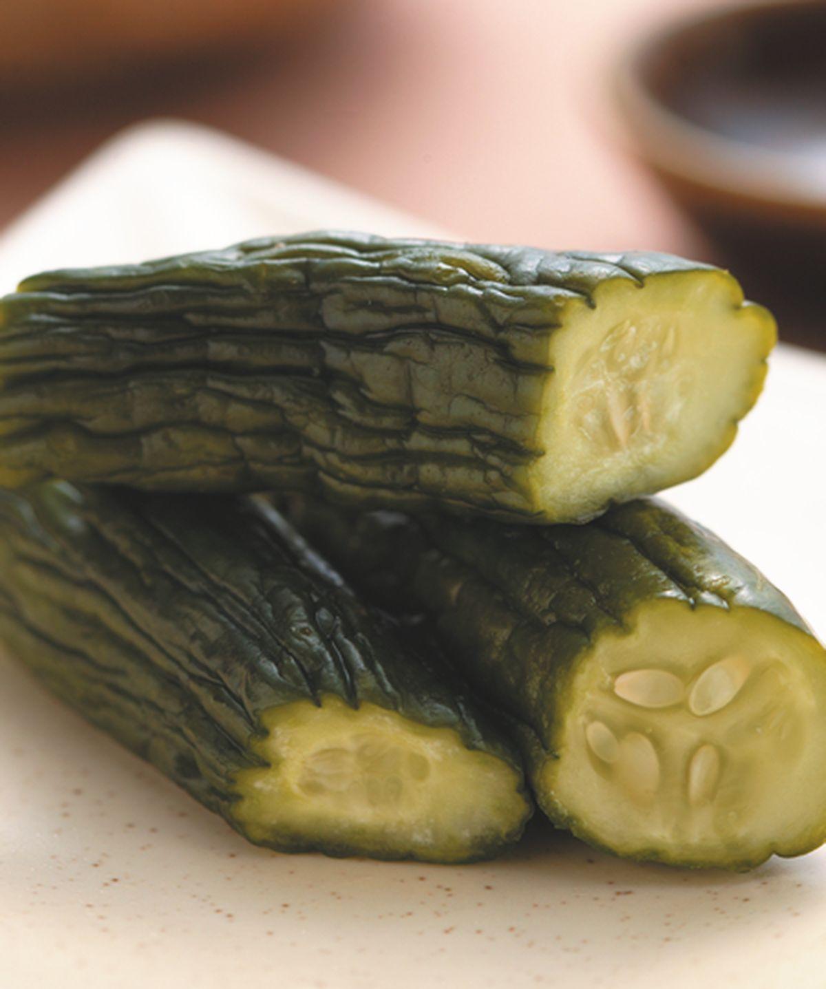 食譜:味噌小黃瓜