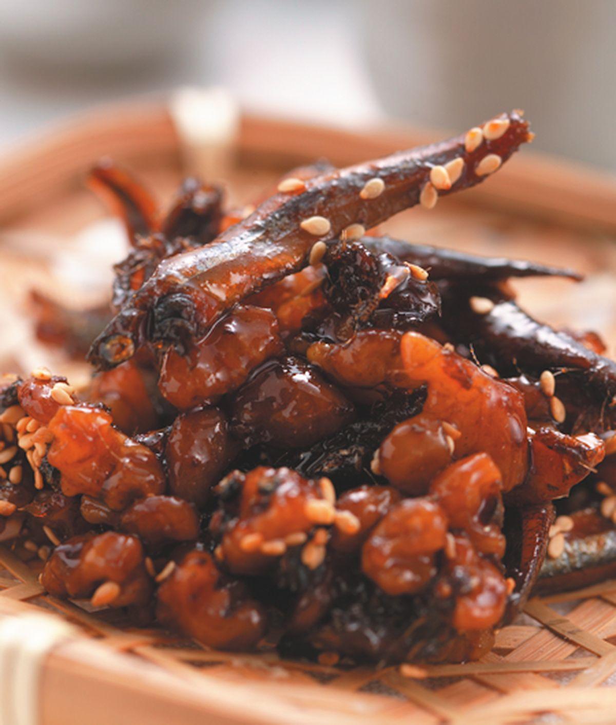 食譜:胡桃香魚燒