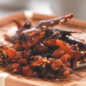 胡桃香魚燒