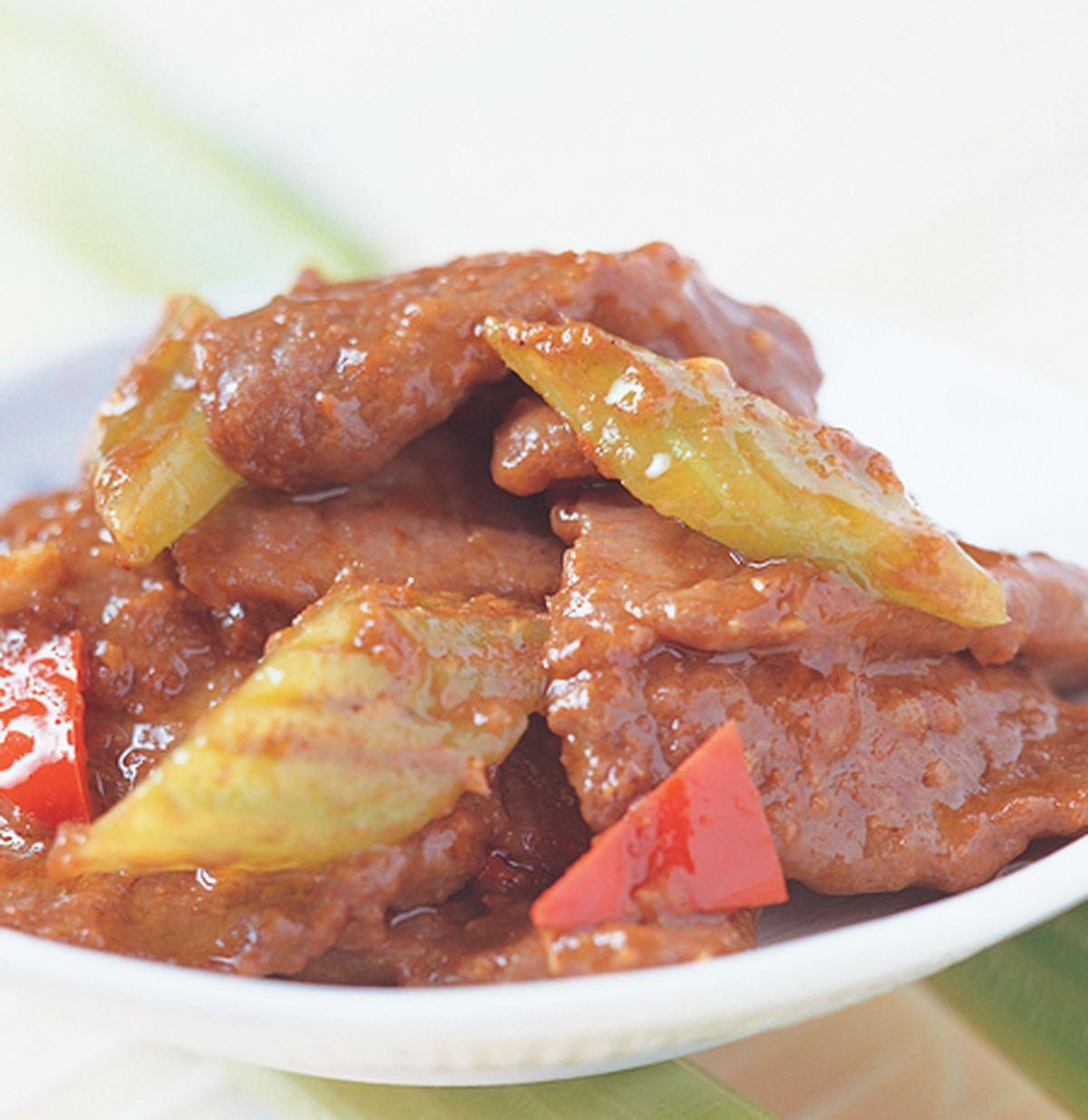 食譜:沙茶牛肉(1)