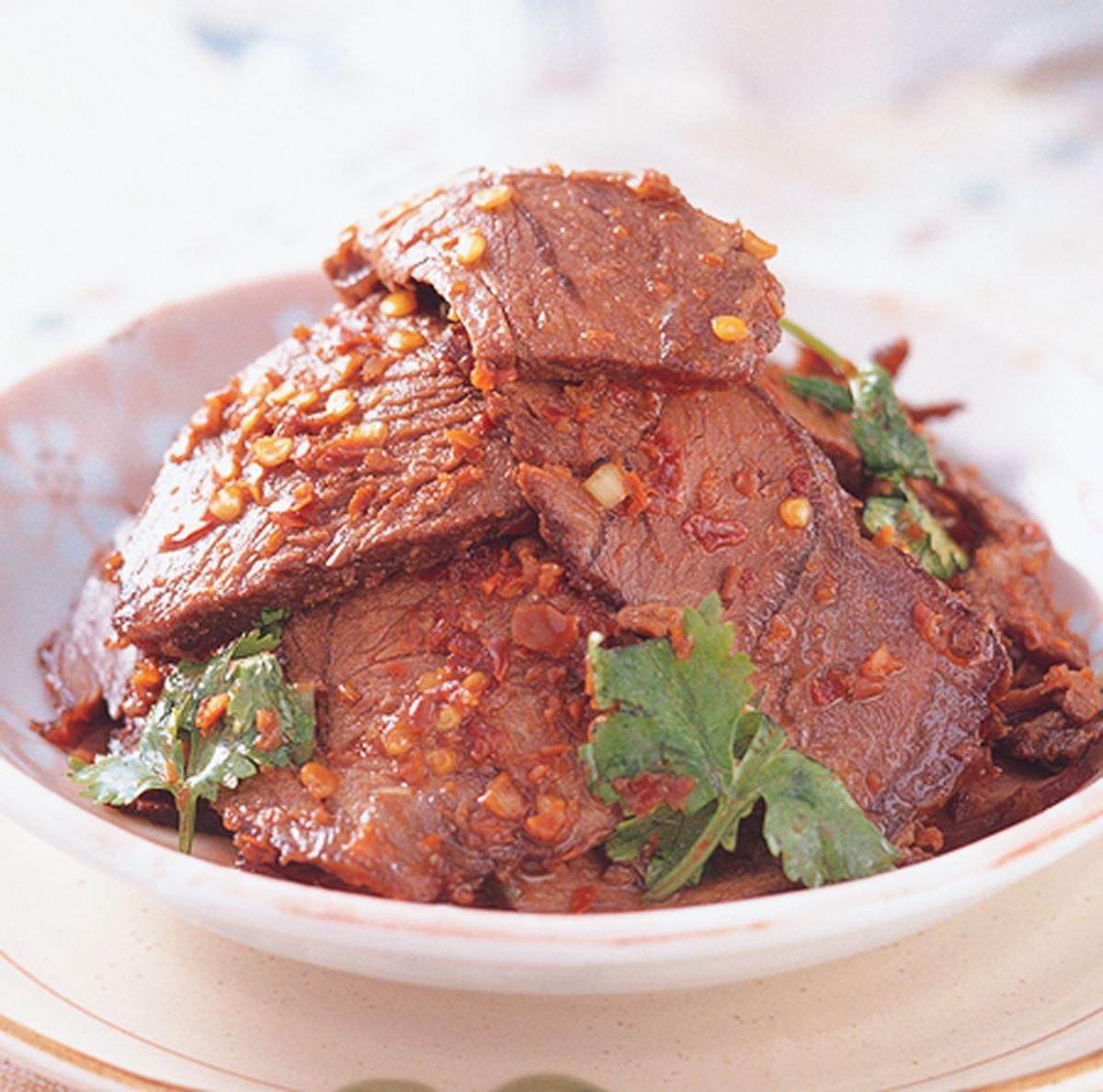 食譜:麻辣牛肉片