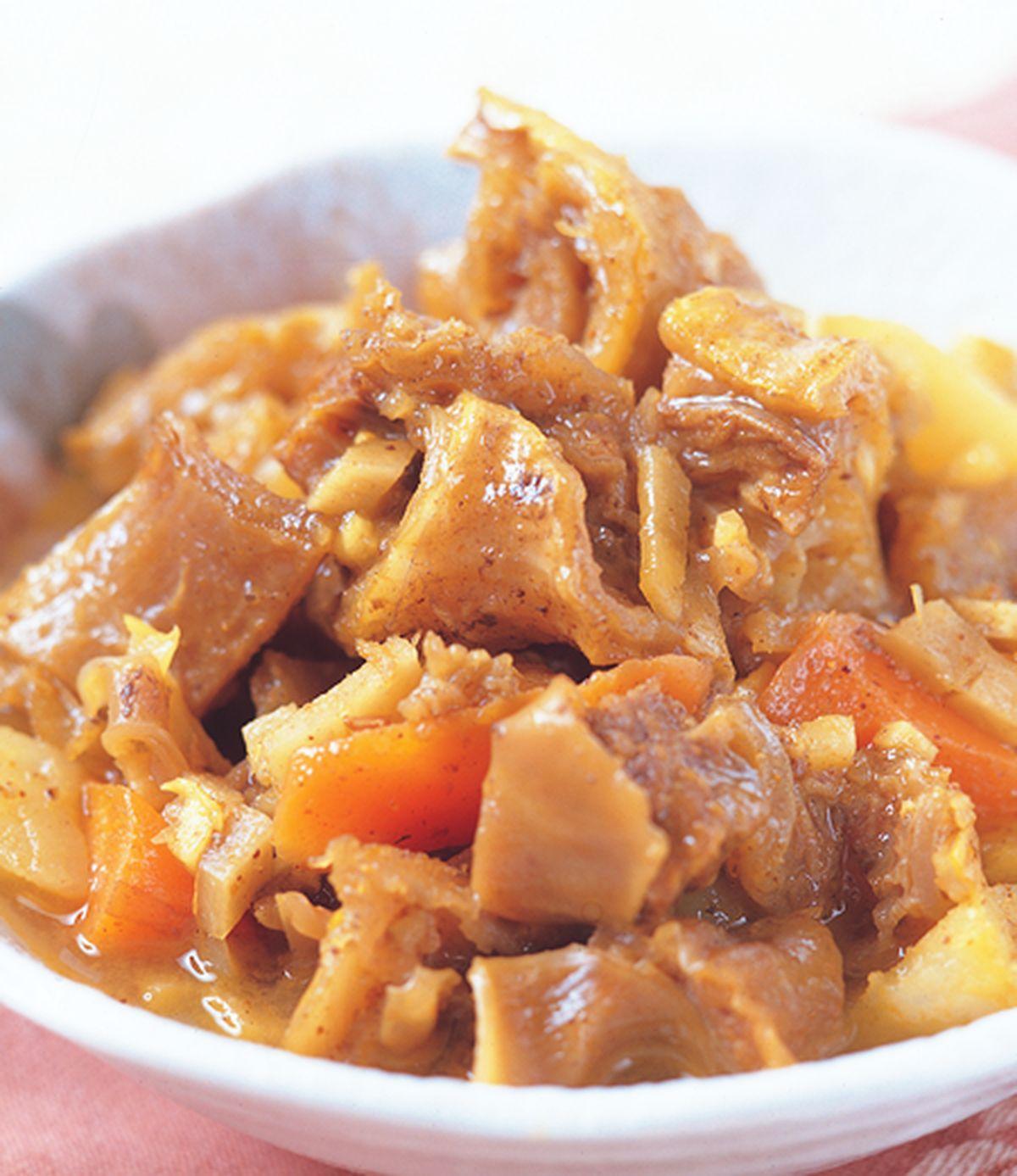 食譜:咖哩燉牛肉