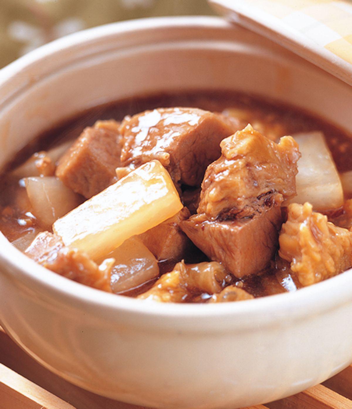食譜:牛腩火鍋
