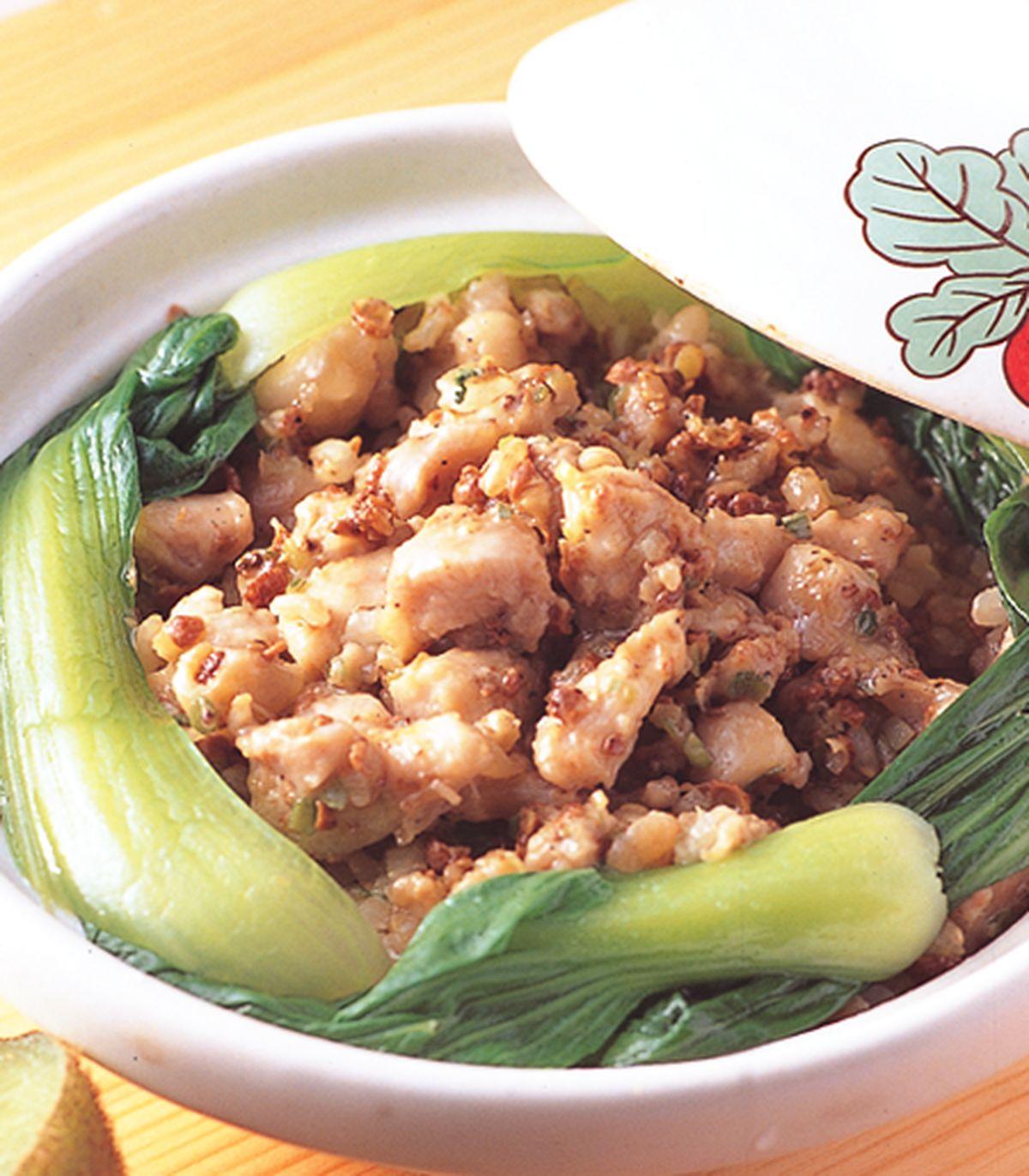 食譜:椒麻雞丁煲飯