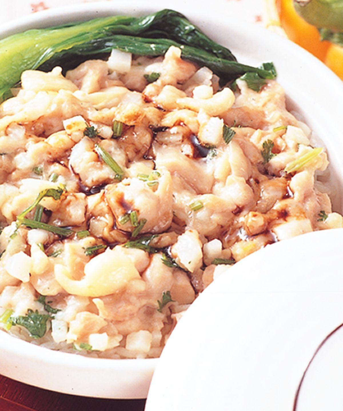 食譜:雞茸香菜煲菜飯