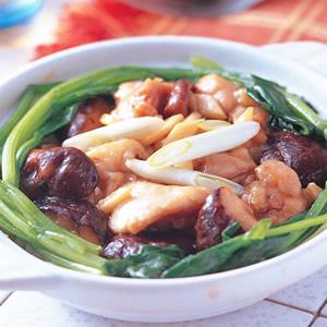 香菇滑雞煲飯(1)