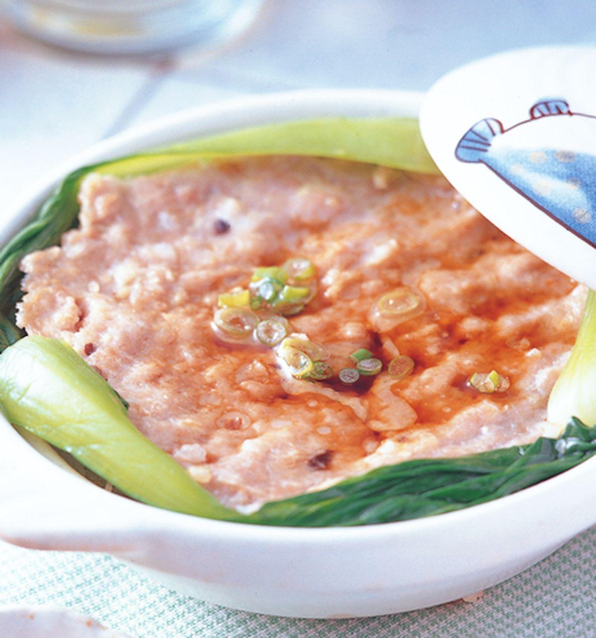 食譜:鹹魚肉餅煲飯