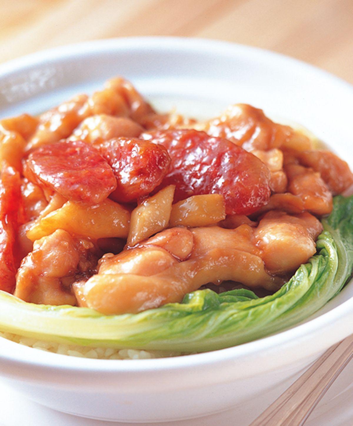 食譜:臘腸雞煲飯