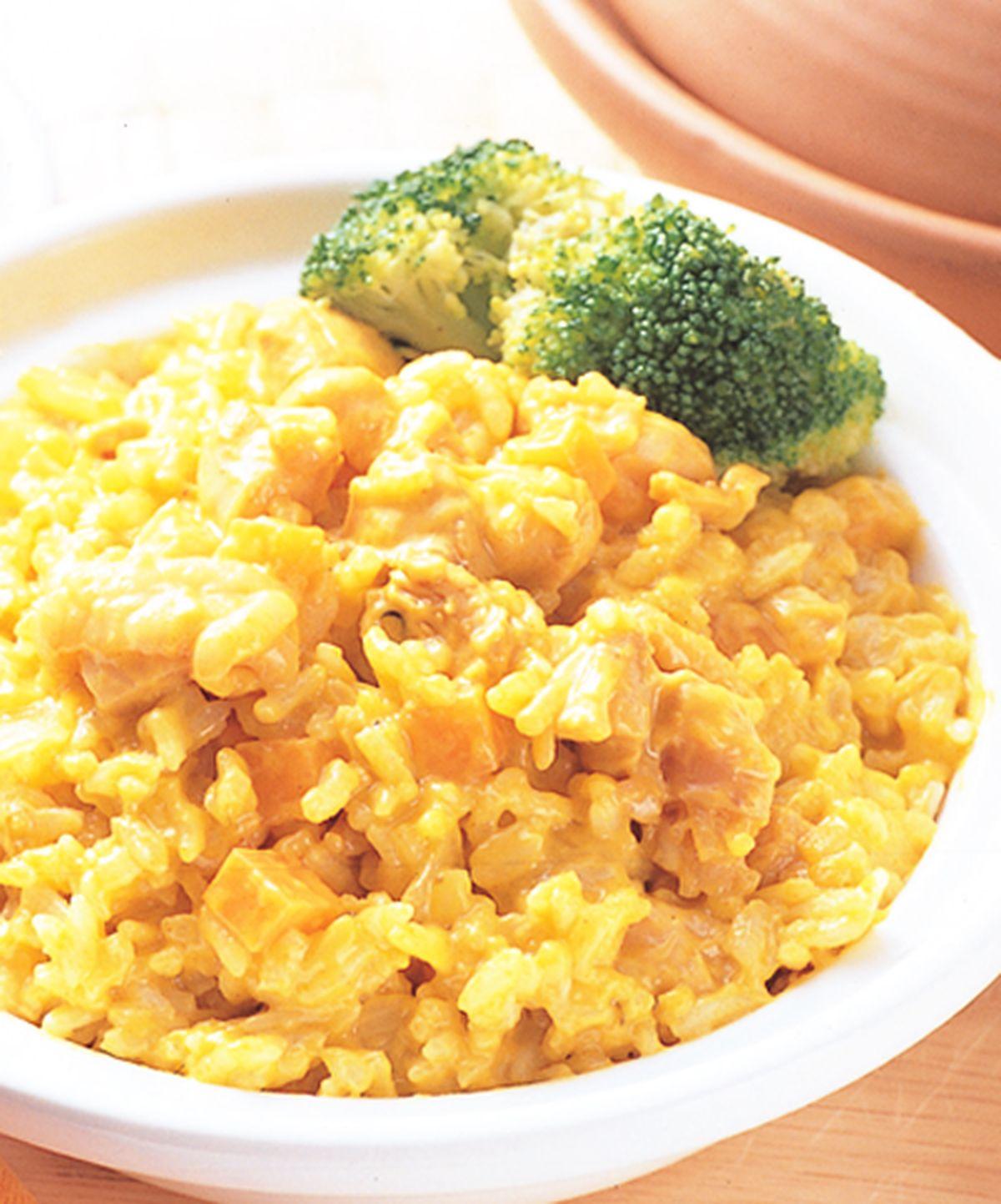 食譜:咖哩椰汁煲仔飯
