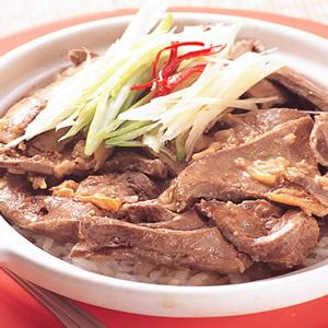 冬菜豬肝煲飯