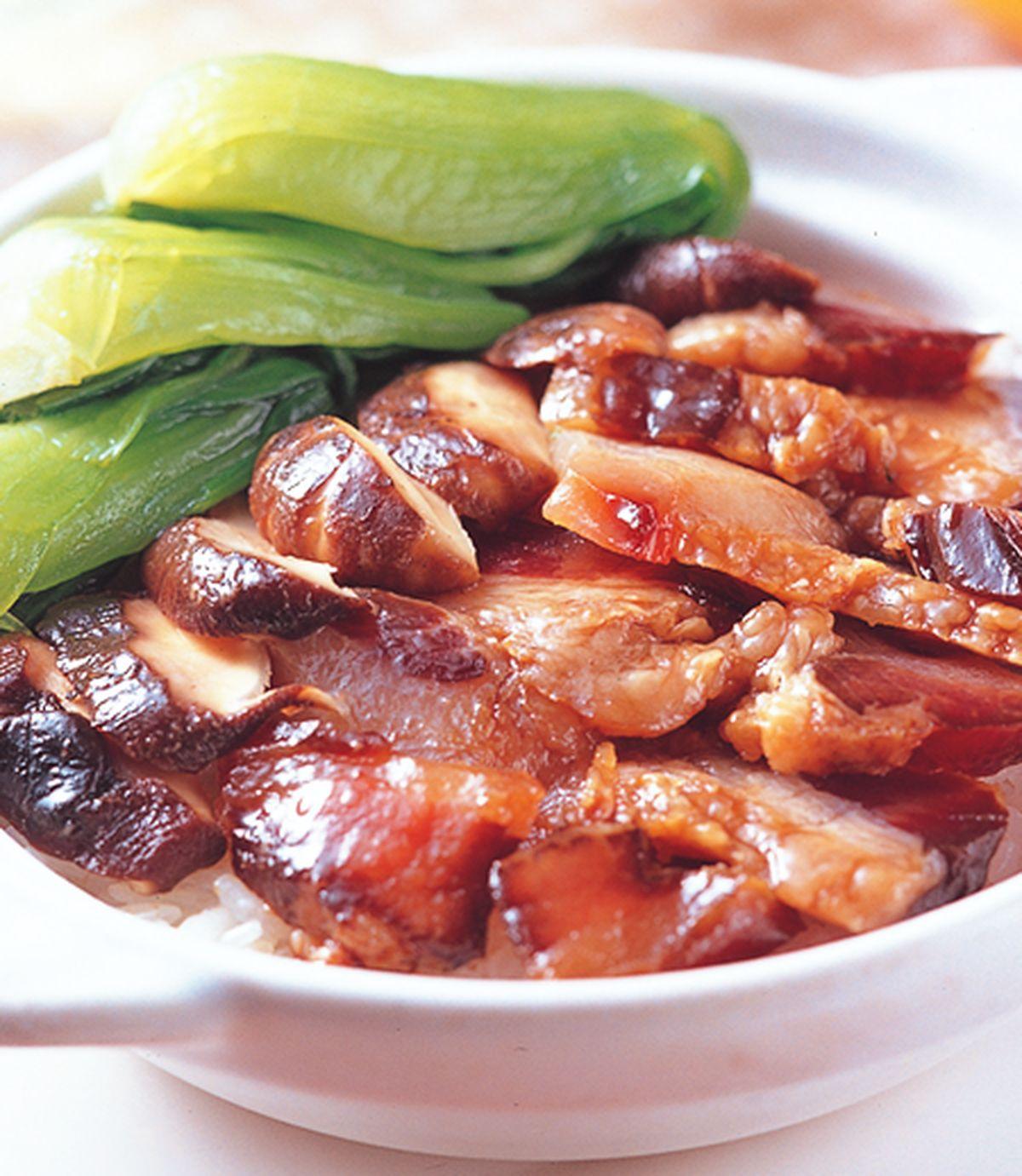 食譜:香菇臘肉煲仔飯