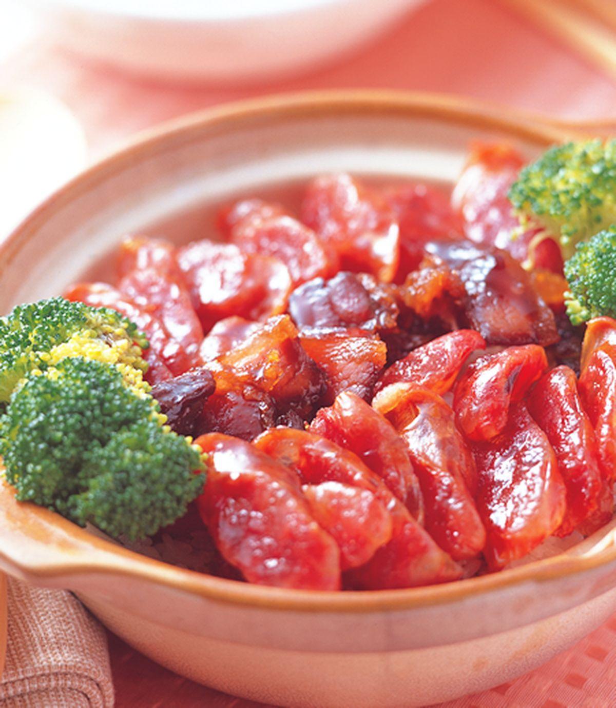 食譜:香菇臘肉煲仔飯(1)