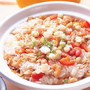 蝦米菜脯煲飯