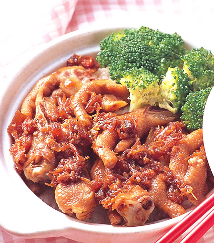 食譜:XO醬鳳爪煲飯