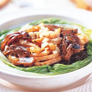 墨魚乾蠔豉煲仔飯