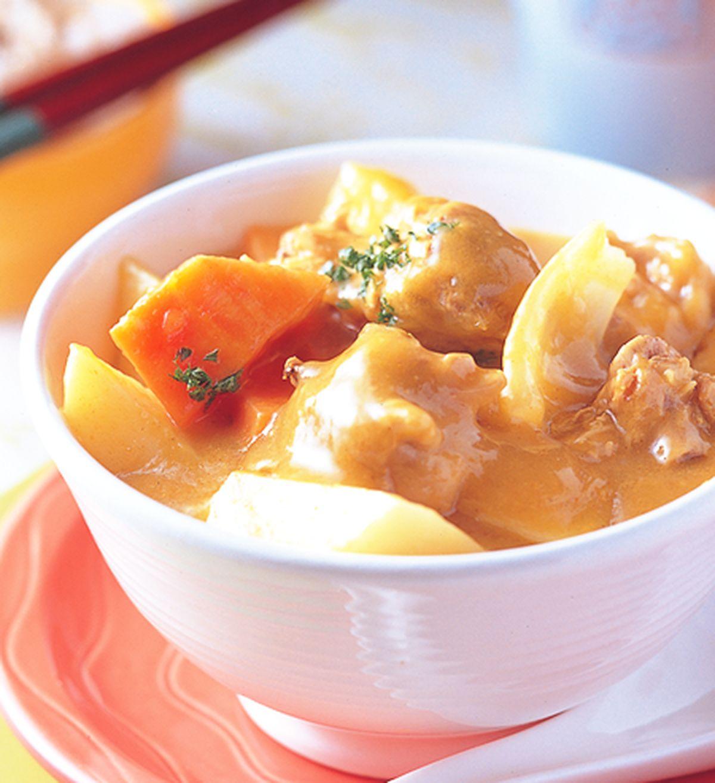 食譜:日式咖哩雞