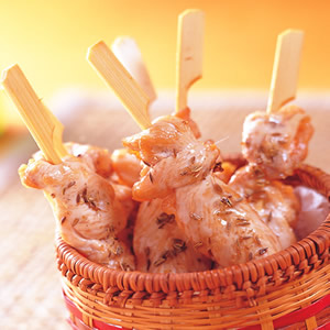 新疆雞肉串