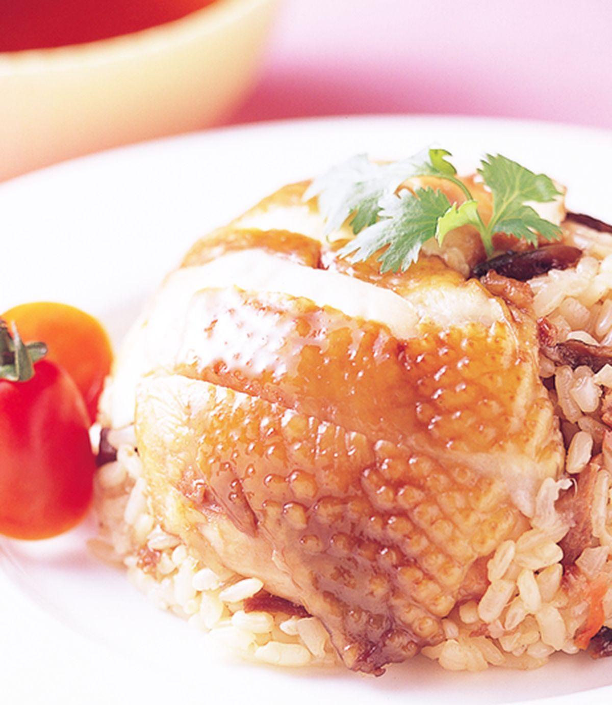 食譜:烤雞扣飯