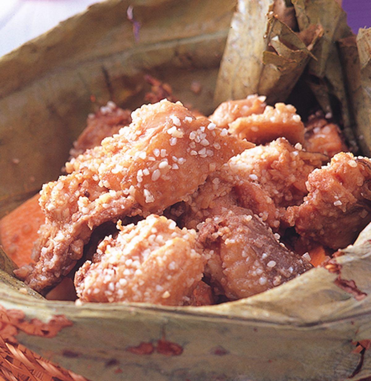 食譜:荷葉粉蒸雞(1)