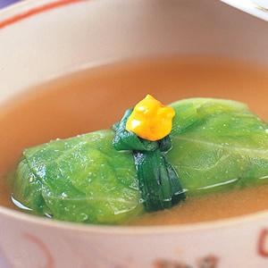 高麗菜捲味噌湯
