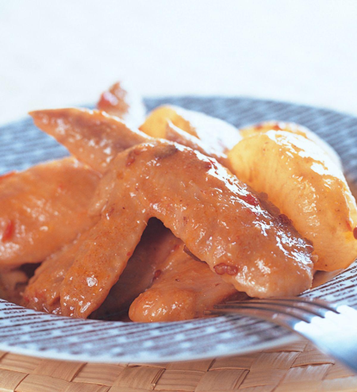 食譜:味噌煮雞翅